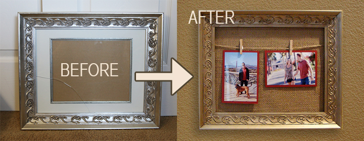 Picture Frame Makeover