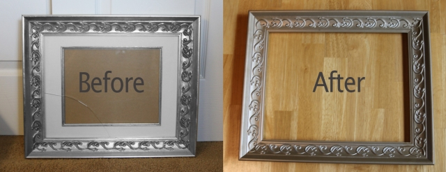 39f350b38c65 How To Glaze A Picture Frame Simple Instructions With Pictures