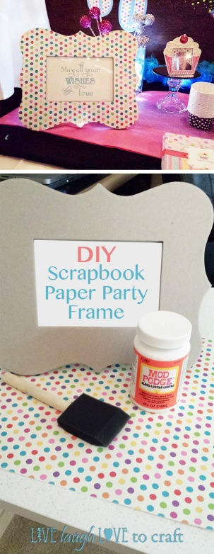 blog-scrapbook-paper-polka-dot-picture-frame